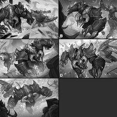 Blackfrost Alistar and Renekton Splash Concept 1 (by Riot Contracted Artist <a href=
