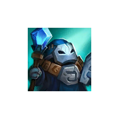 Blue Caster