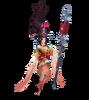 Janna Heiliges Schwert Janna (Rosenquarz) M