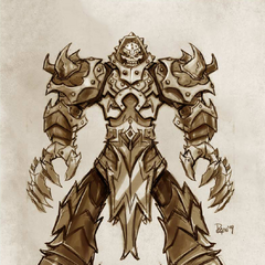 Mordekaiser Concept 1 (by Riot Artist <a href=