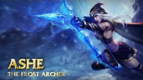 Prezentacja Bohatera - Ashe, Lodowa Łuczniczka