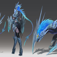 Ice Drake Shyvana Concept 2 (by Riot Artist <a href=