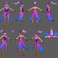 Pool Party Syndra Model