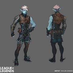 Talon Blackwood Concept 3 (by Riot Artist <a href=
