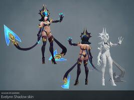 Evelynn Update Schatten- Model 01