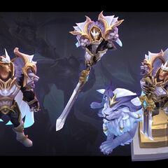 God-King Garen Model 1 (by Riot Artist <a href=