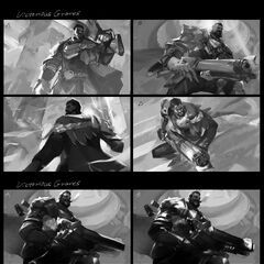 Victorious Graves Splash Concept 1 (by Riot Artist <a href=