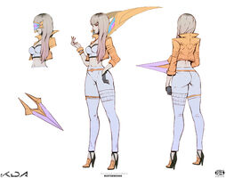 Kai'Sa PrestigeKDA Konzept 01