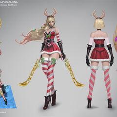Slay Belle Katarina Concept (by Riot Artist <a href=