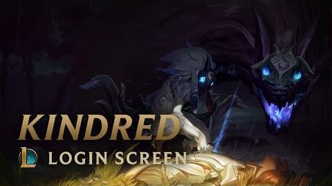 Kindred - ekran logowania