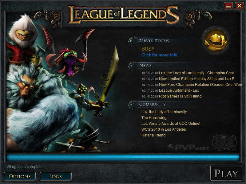 Image - Launcher Busy png | League of Legends Wiki | FANDOM