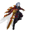 Talon Drachenklingen-Talon (Obsidian) M