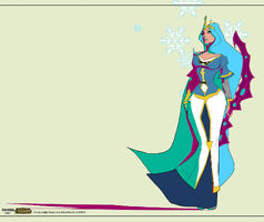 Ashe Königin Konzept 02