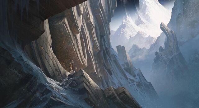 Berg Targon Divine Carvings