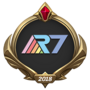 MSI 2018 Rainbow7 Emote