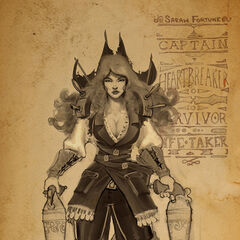 Captain Fortune Concept 1 (by Riot Artist <a href=