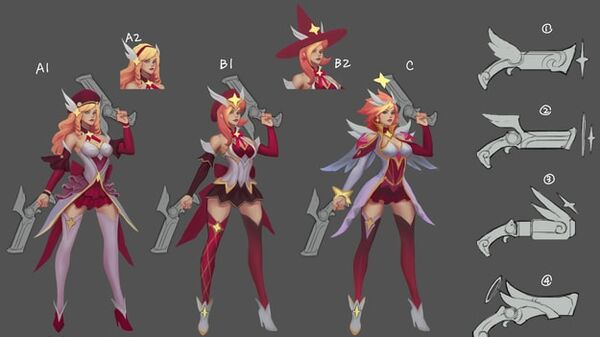 Miss Fortune StarGuardian Concept 01