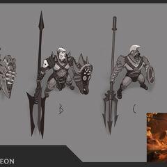 Ruthless Pantheon Update Concept 1 (by Riot Artist <a href=