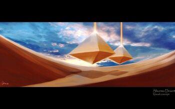 Shurima Wüste Konzept