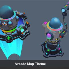 Arcade Turret Concept 2 (by Riot Artist <a rel=