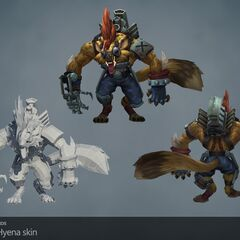 Hyena Warwick Update Model (by Riot Artists <a href=