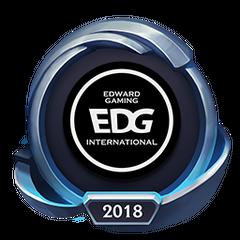 Mistrzostwa 2018 – EDG