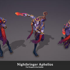 Nightbringer Aphelios Model 4 (by Riot Artist <a rel=