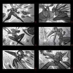 Arcade Kai'Sa Splash Concept 1 (by Riot Artist <a href=