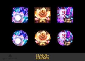 Seelenblumen Symbol Konzept 01