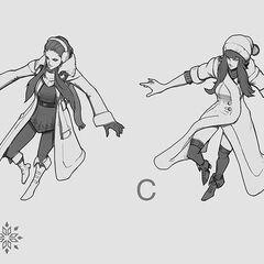 Początkowa grafika koncepcyjna Śnieżnej Syndry