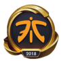 Worlds 2018 Fnatic (Gold) Emote