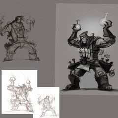 Ziggs Concept 1 - Ivan the Mad Bomber (by Riot Artist <a href=