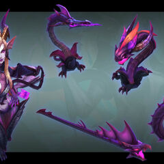Dragon Sorceress Zyra Model 3 (by Riot Artist <a href=