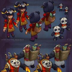 Panda Annie Model 2 (by Riot Artist <a href=