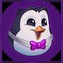 Emotka Fioletowy Podjarany Pingu