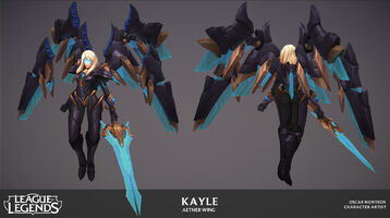 Kayle Update Ätherflügel- Model 04
