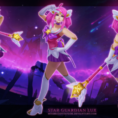 Star Guardian Lux Model 1 (by Riot Artist <a href=