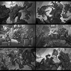 Talon Blackwood Splash Concept (by Riot Artist <a href=