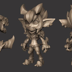 Little Demon Tristana Model 2