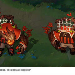 Goalkeeper Maokai Concept (by Riot Artist <a rel=