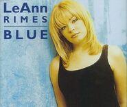LeAnn Rimes - Blue (single) UK cover