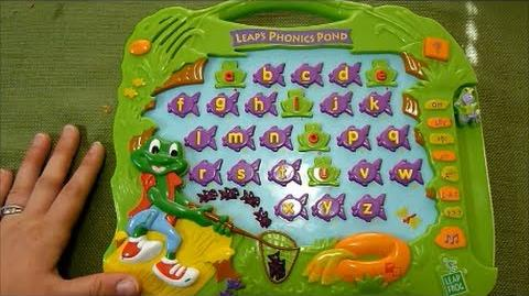 Review of LeapFrog Leap's Phonics Pond Alphabet Pad Toy