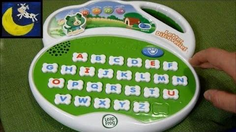 Review LeapFrog Letter Discoveries Alphabet Pad Toy - 2009