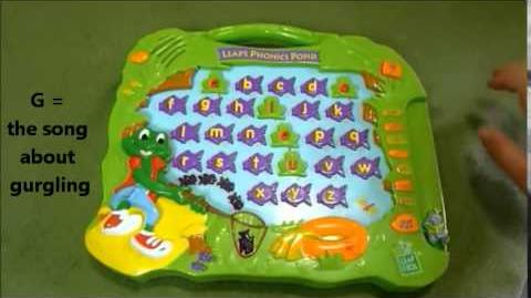 LeapFrog Leap's Phonics Pond (Special Edition for K