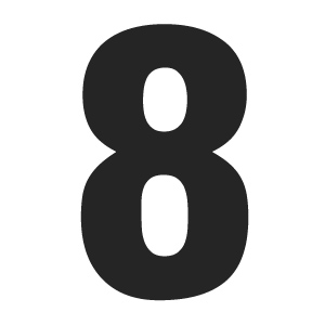Number-solid-8