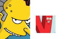N Mr. Burns