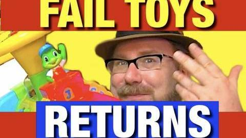 Funny FAIL LeapFrog Alphabet Train Toy Video by Mike Mozart @JeepersMedia on YouTube