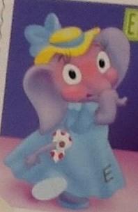 Emma the Embarrased Elegant Elephant