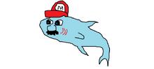 Sharlo the mario shark