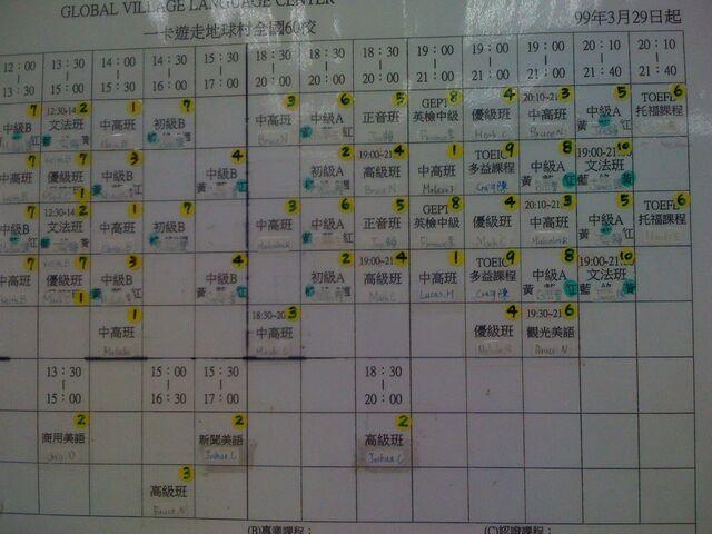 文件:GVO敦化 美語 201103 晚上課表.jpg